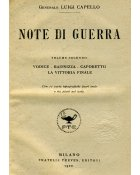 Note di Guerra - Luigi Capello