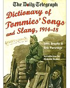 DICTIONARY OF TOMMIE'S SONGS AND SLANG, 1914-1918