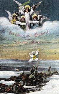 Cartolina natalizia tedesca
