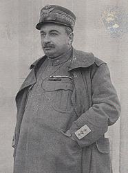 Il Generale Luigi Capello, comandante della 2a Armata a Caporetto