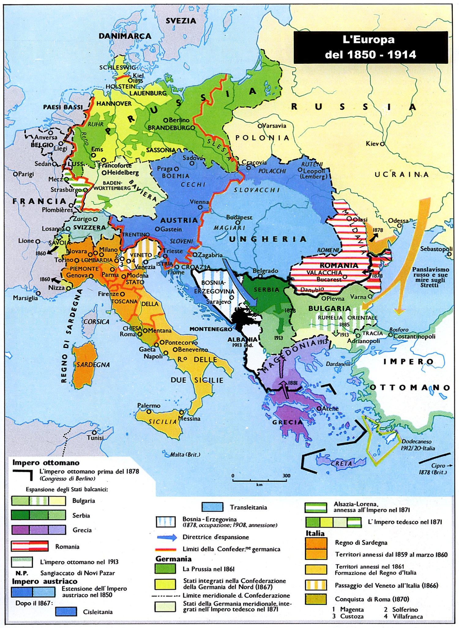 La Prima Guerra Mondiale Cartina.Breve Riassunto Della Grande Guerra Prima Guerra Mondiale