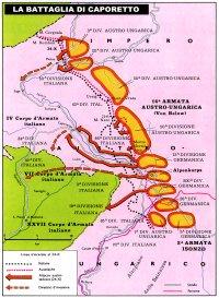 La mappa di Caporetto (clicca per ingrandire)